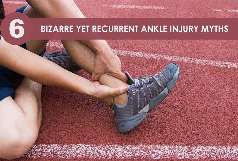 ankle injury myths
