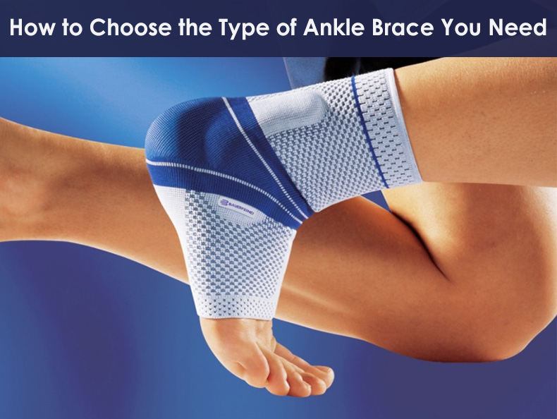 type of ankle braces
