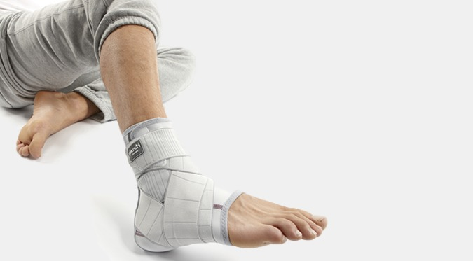 How to wear and ankle brace